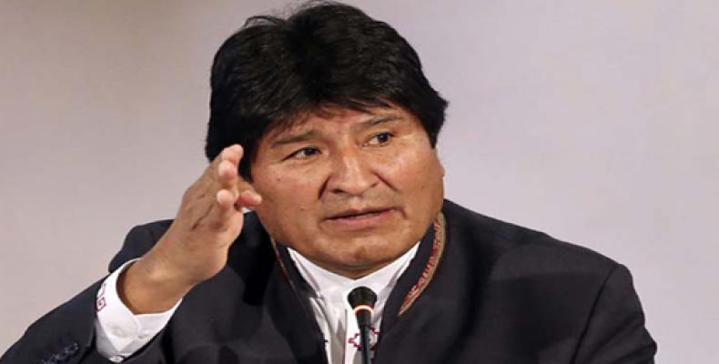 Pide Evo Morales formación de una misión internacional que garantice elecciones transparentes en Bolivia