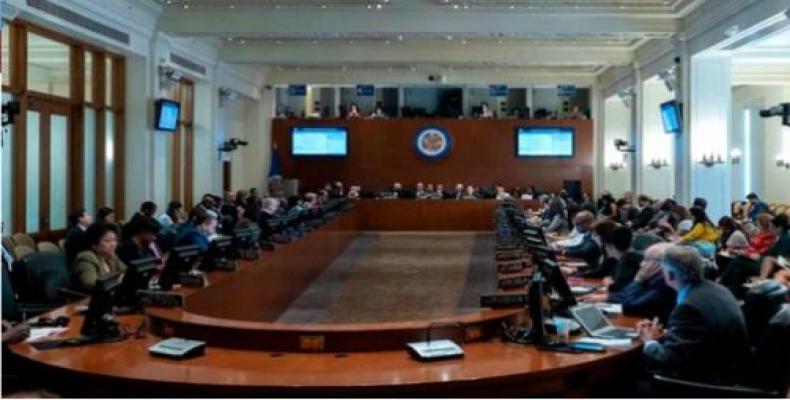Contundente derrota de EE.UU: y Almagro en OEA al aprobarse resolución del CARICOM sobre Bolivia