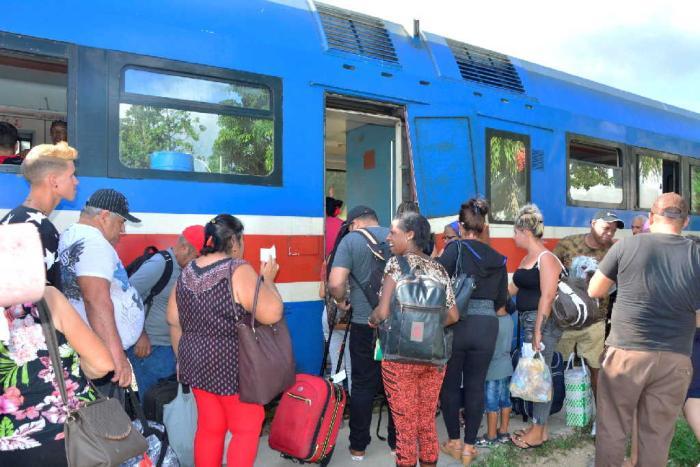 Ferrocarriles lo admite: El Espirituano está como para no circular