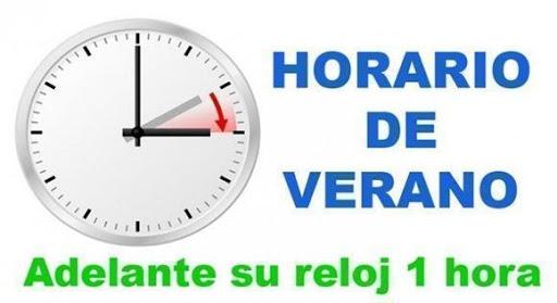 3 cambio de hora