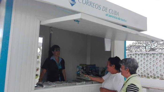 Reabierto estanquillo de Correos de Cuba en Cabaiguán