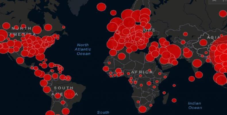 9267 coronavirus expansion mundial DiarioAS
