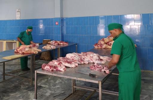 Foto centro de procesos alimentos