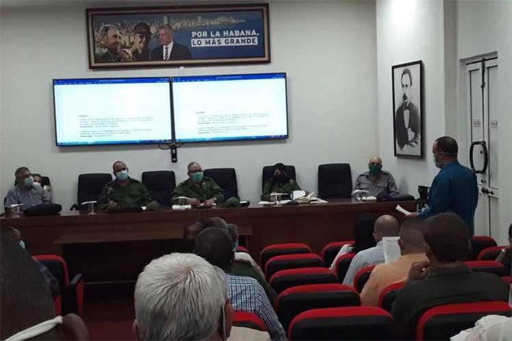 Habana Consejo Defensa