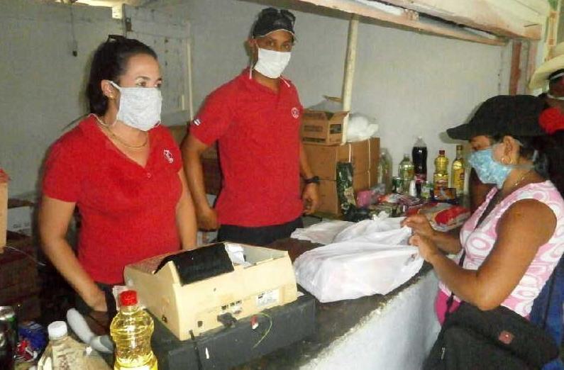 Venta de productos de TRD en comunidades
