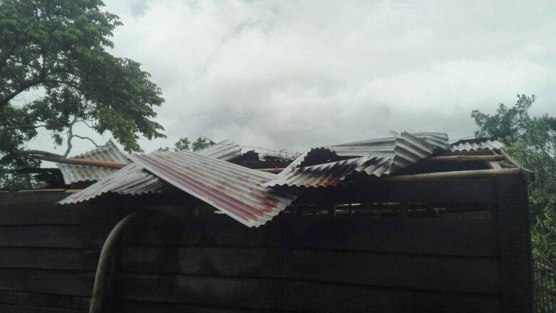 Tormenta local revuelca La Pimienta en Cabaiguán (+ Fotos)