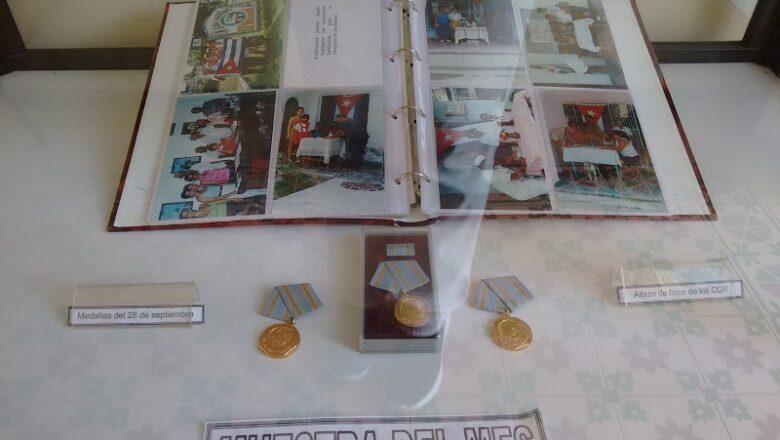 Evoca  muestra del Museo Municipal aniversario 60 de los CDR