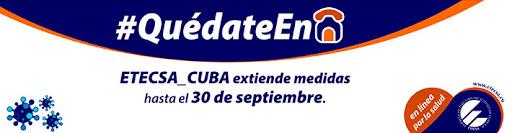 Etecsa aplaza hasta el 30 de septiembre medidas implementadas ante la COVID-19