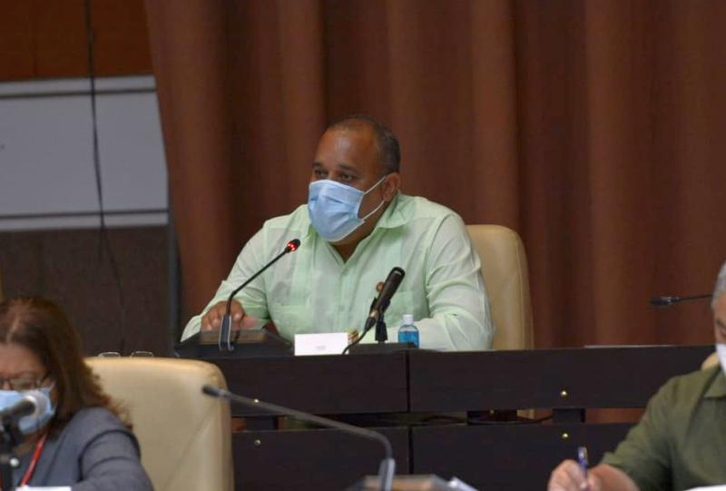 alexis lorente interviene en la asamblea nacional foto asamblea nacional