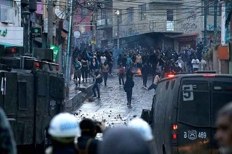 chile protestas valparaiso