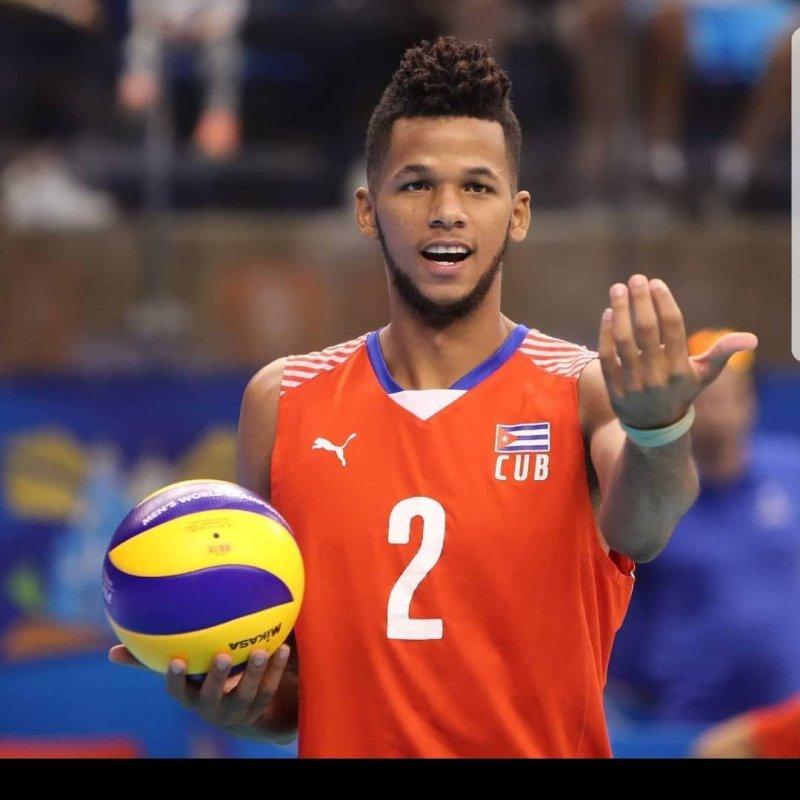 Osniel Melgarejo Voleibol