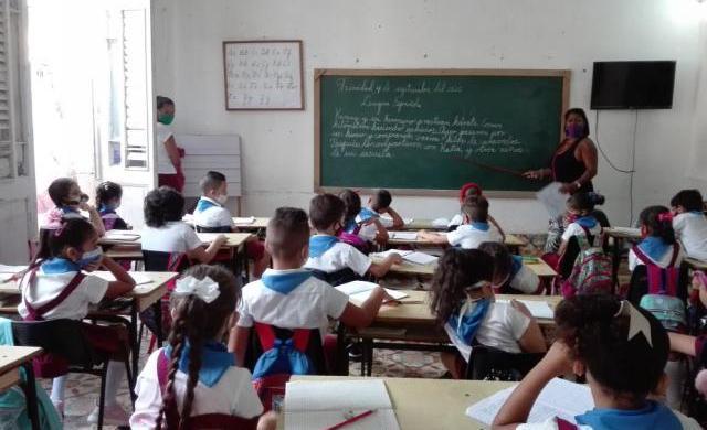 curso escolar en trinidad