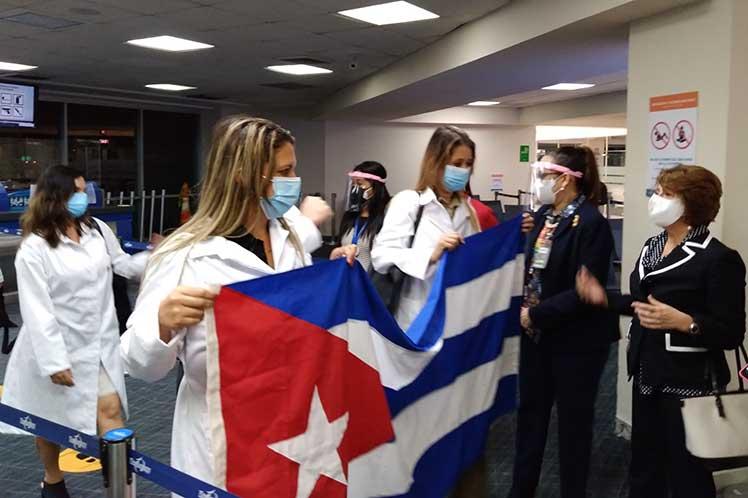 Panama llegada medicos Cuba