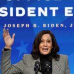 Kamala Harris presentará su renuncia oficial al Senado de EE.UU.
